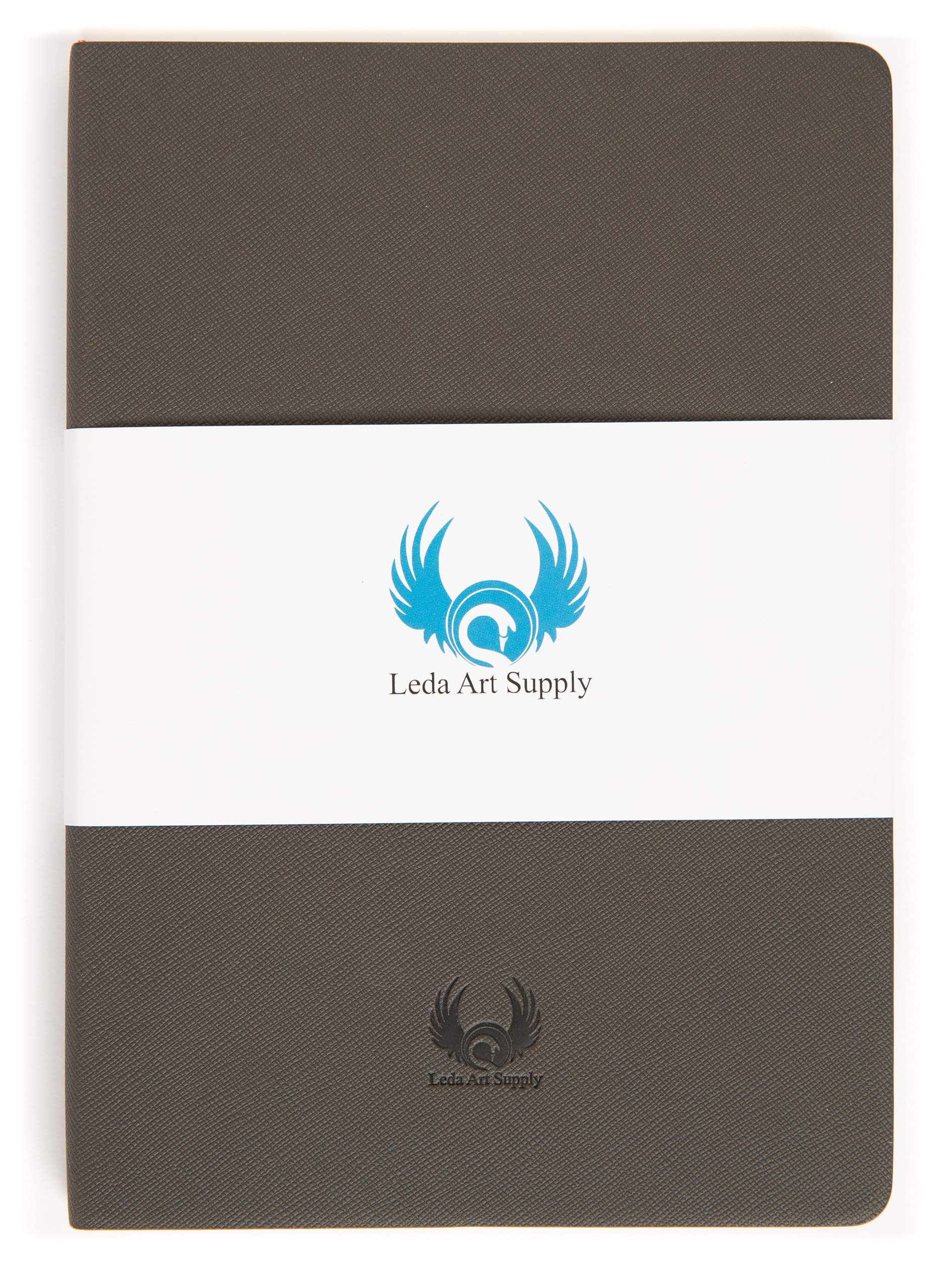 Leda Art Supply Perfect Premium A5 Sketch Book (Medium 8.25 x 5.7 inch) 160 Tear Resistant Pages for Professional Ink, Pen, Graphite and Colored Pencil Drawing