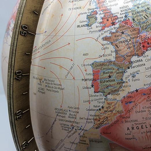 atmosphere - Globo A4, 30 cm, Color Sepia (Mapiberia 97826): Amazon.es: Juguetes y juegos