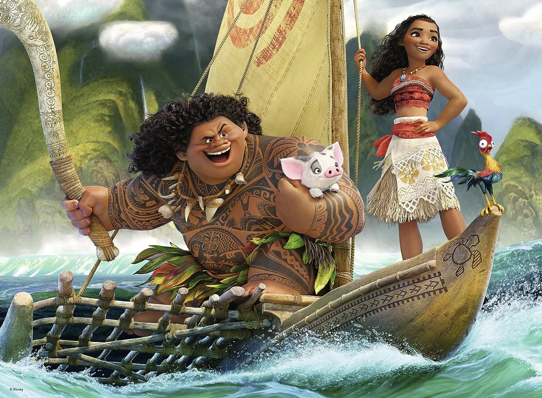 Ravensburger Disney Moana One Ocean One Heart 100 Piece Jigsaw Puzzle 10719