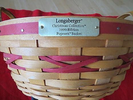 Longaberger Christmas Basket.Amazon Com Longaberger Christmas Collection 1999 Edition