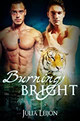 Burning Bright: A Spicy M/M Weretiger Heist Romance Kindle Edition