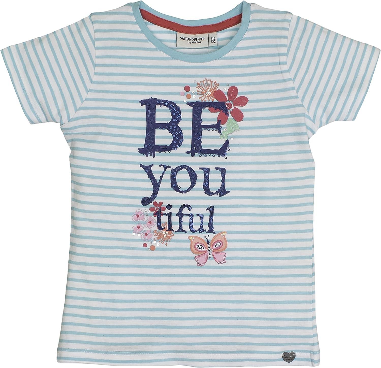 Salt /& Pepper T-Shirt Sunny Day Stripes Bambina