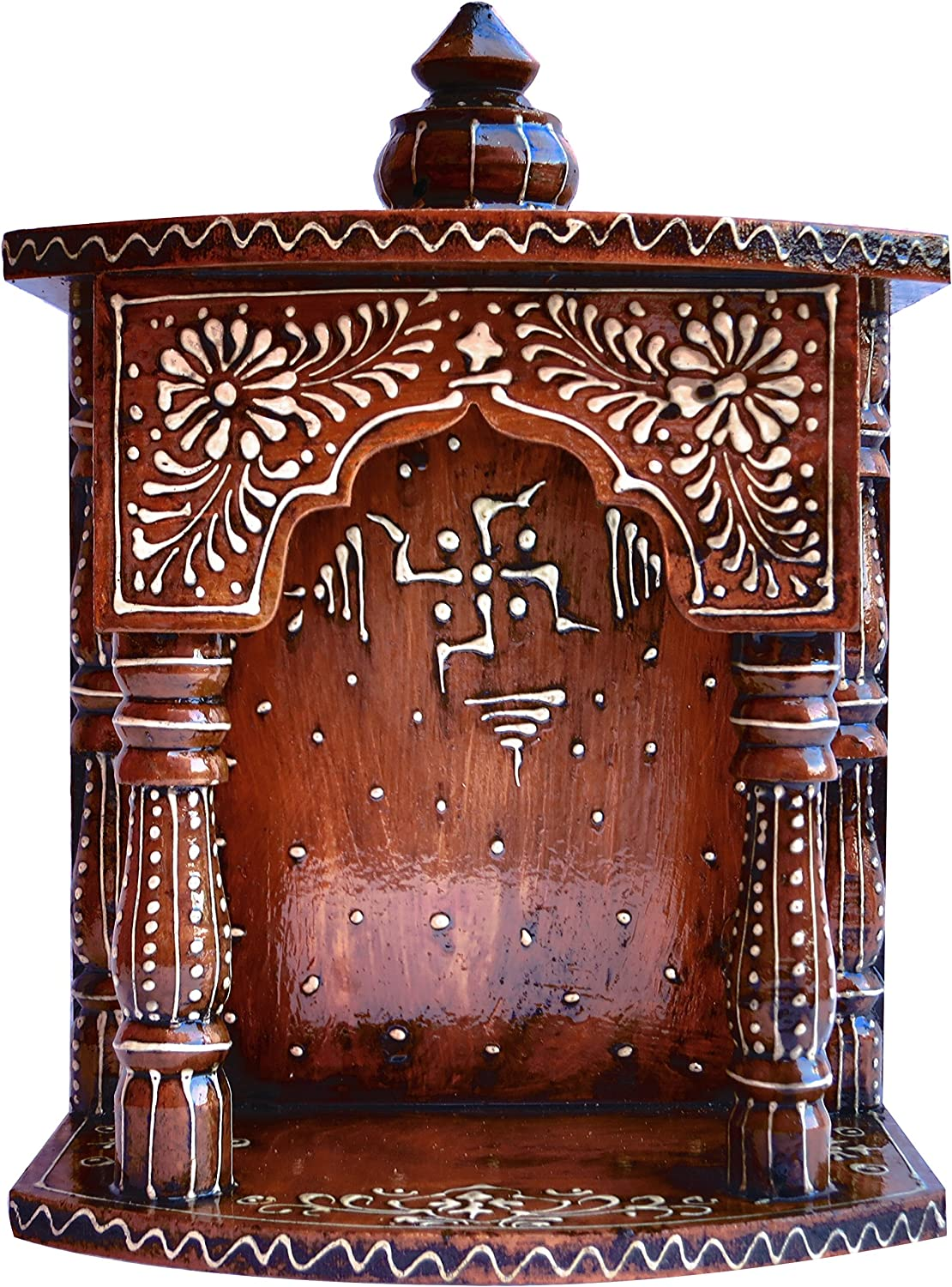 Hindu Sale item Religious Temple Made All items in the store with Hand Painted E MDF Wood