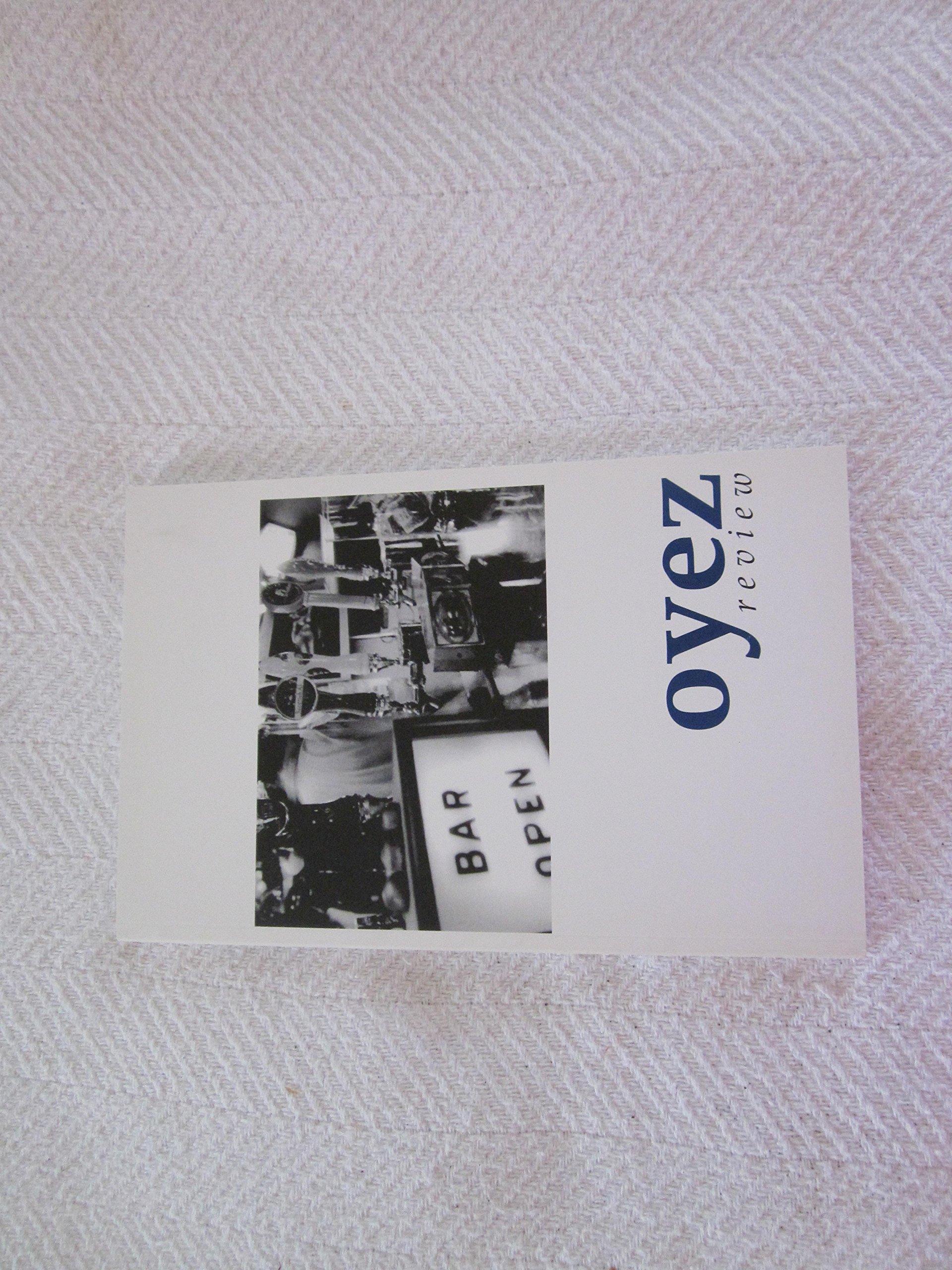 Oyez Review, Winter 2002 Volume 30 ebook