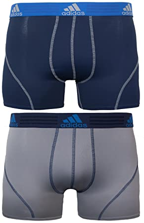 b9dfe8be6761 adidas Men s Sport Performance Climalite Trunk Underwear (2-Pack ...
