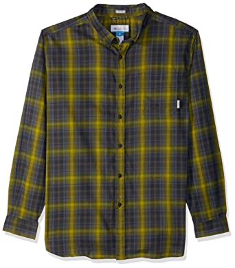 4fd1d3858d2 Columbia Men's Big and Tall Cooper Lake Big & Tall Long Sleeve Shirt,  Alpine Tundra