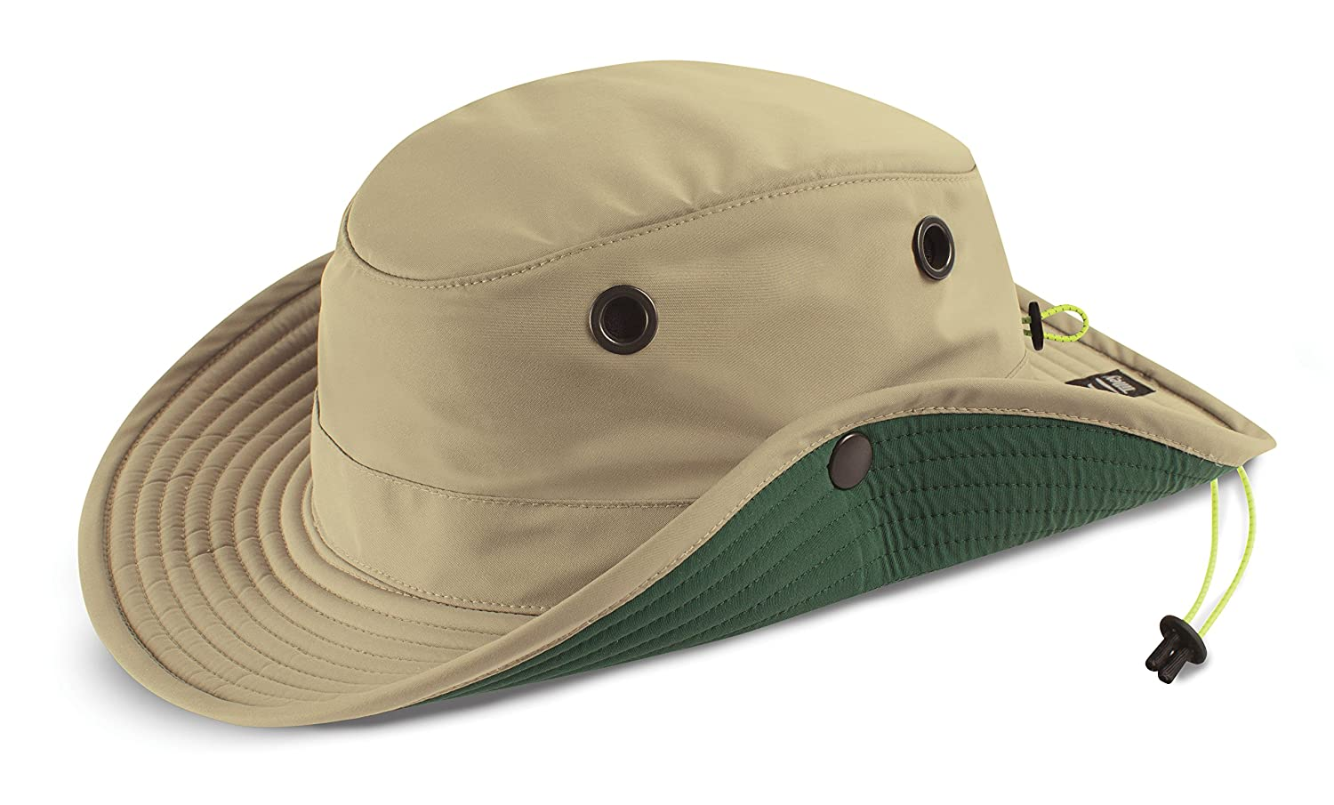 Amazon.com  Tilley TWS1 Paddlers Hat Stone 71 2  Sports   Outdoors 419222ab404