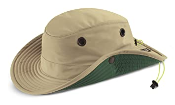 d6ab21e503c Amazon.com  Tilley TWS1 Paddlers Hat Stone 73 4  Sports   Outdoors