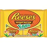 Reese's Easter Peanut Butter Eggs,1.2 oz 6-Count Packages (Pack of 4)