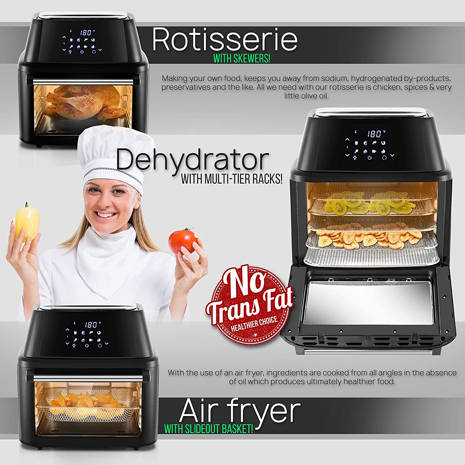 Best Air Fryer Toaster Oven Reviews By Consumer Report 2020