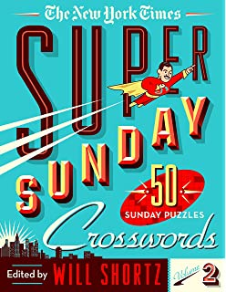 The New York Times Sunday Crossword Puzzles Volume 43 50 Sunday