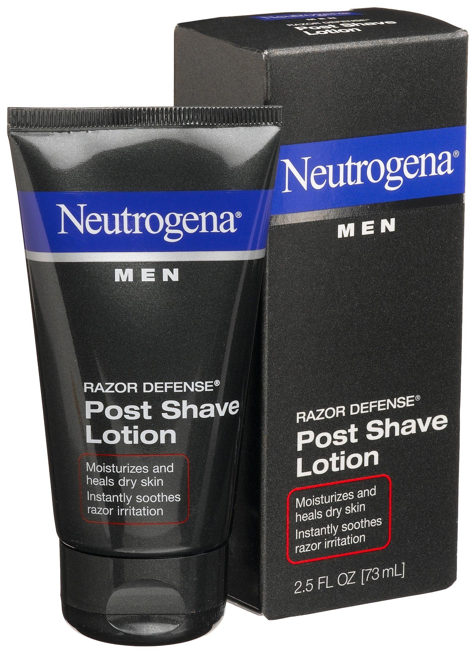 Neutrogena Men Razor Defense Post Shave Lotion, 2.5 Ounce (Pack of 4)