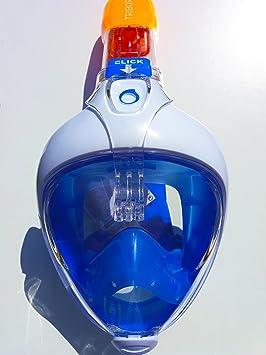 Original Tribord EASYBREATH Snorkeling máscara buceo con desmontable para cámara de deportes de acción (GoPro