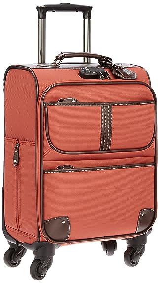 615c4fa8c0 ... キャリーケース TSAロック 機内持込サイズ Sサイズ キャリーバッグ SUITCASE 28L 55 cm 3.2kg CA-S オレンジ    AMANDA BELLAN(アマンダベラン)   スーツケース