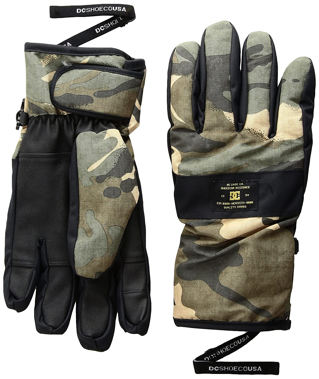 DC Men's Franchise Snow Gloves DC Young Men's Snow EDYHN03026