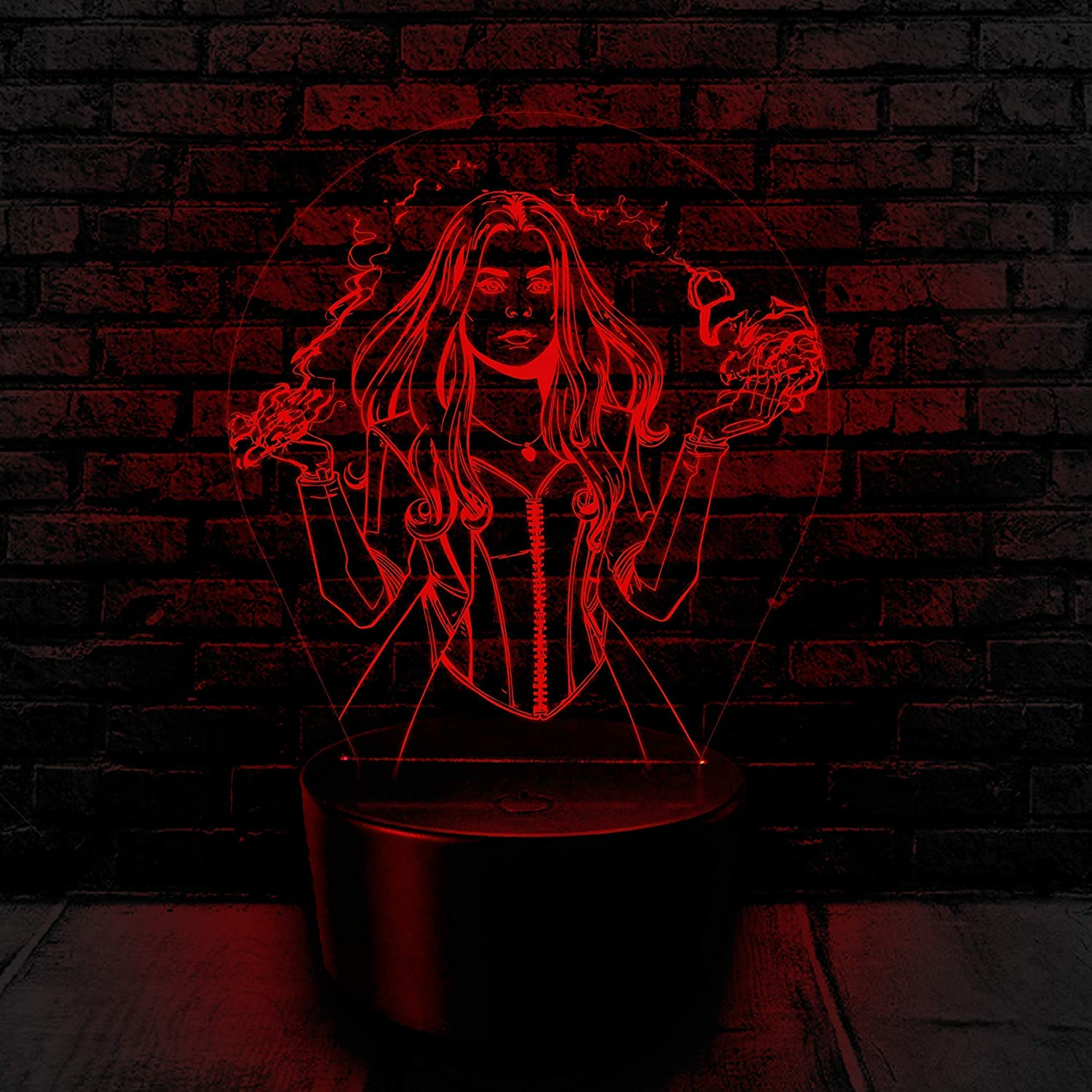Scarlet Witch Avengers 3D night light