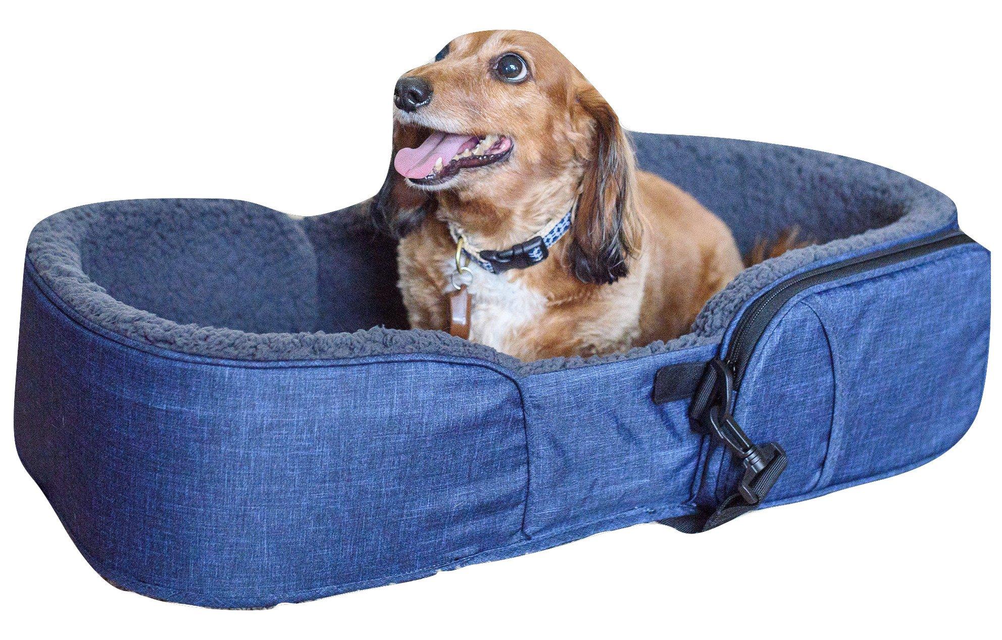 Gen7Pets Gen7 Traveler Pet Bed Heather Navy