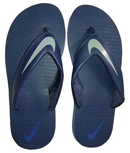 58bacd667a3d Nike Men s Chroma Thong 5 Navy Blue Flip Flops  Buy Online at Low Prices in  India - Amazon.in