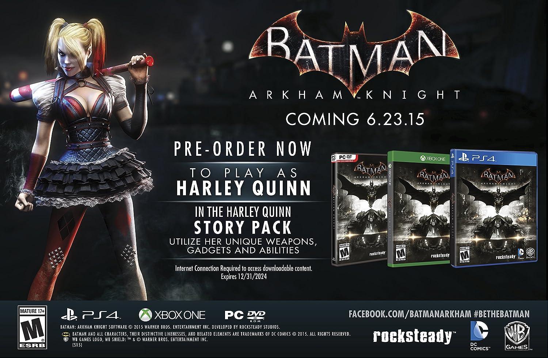 Amazon.com: Batman Arkham Knight - Season Pass - PlayStation ...