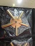 2pc Universal 5 Prong Brass Clock Key for Winding