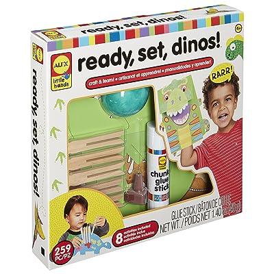 Alex- Preparados, listos, Dinosaurios (Juratoys 250020-3): Juguetes y juegos