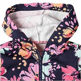 Amazon.com: OFFCORSS Toddler Girls Long Sleeve Zip Up Hoodie Sweaters Sudaderas para Niñas: Clothing