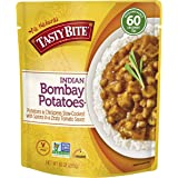 Tasty Bite Indian Entree Bombay Potatoes 10 Ounce (Pack of 6), Fully Cooked Indian Entrée with Chickpeas and Potatoes…