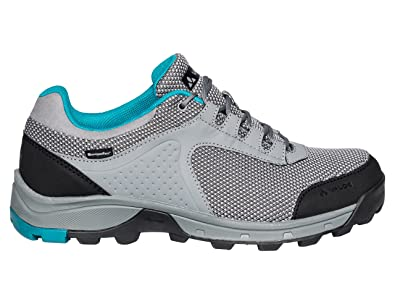 Womens Tvl Comrus STX Low Rise Hiking Shoes, Pewter Grey Vaude