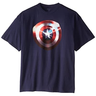 Marvel Captain America Men's Shield T-Shirt | .com