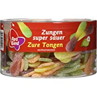 Red Band Zungen super sauer 100 Stück, 1er Pack (1 x 1.2 kg)