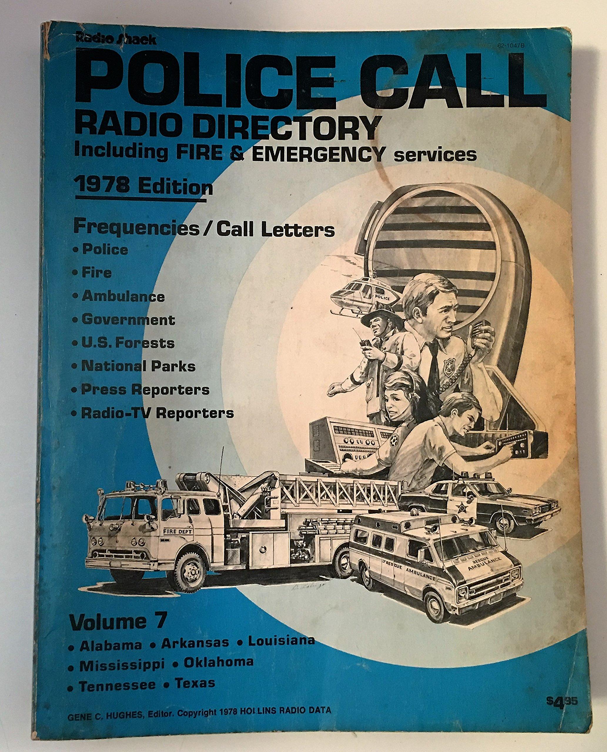 Radio Shack: Police Call Radio Directory Including Fire