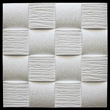 20 Qm Deckenplatten Eps Formfest Marbet 50x50cm Welle2 Amazon De Baumarkt