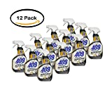 PACK OF 12 - Formula 409 Stone and Steel Cleaner, Spray Bottle, 32 Ounces