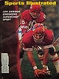 Dawson, Len 1/19/70 autographed magazine