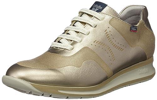 Callaghan Diavel, Zapatos de Cordones Oxford para Mujer, Dorado (Vison 3), 41 EU