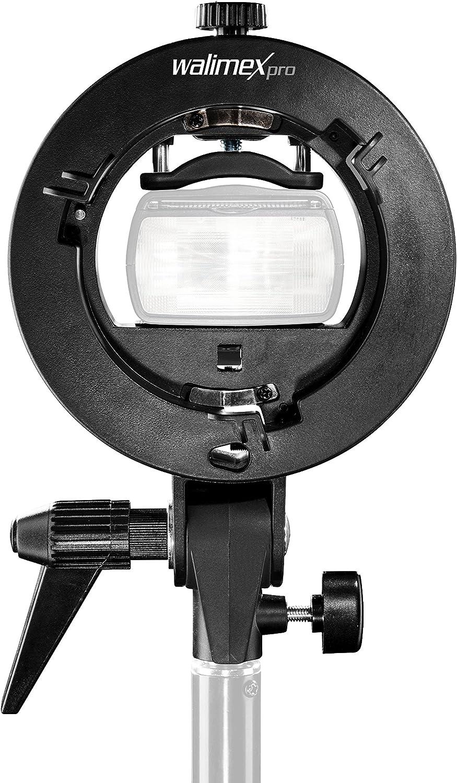 Walimex Pro Universal Systemblitzhalter S Type Schwarz Kamera