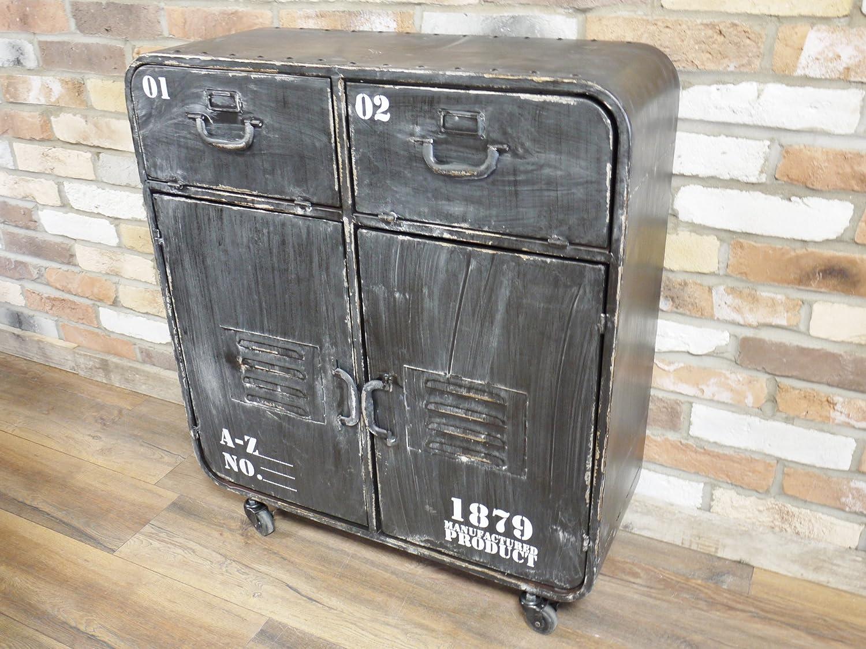 Mobel Wohnen Industrial Vintage Metal Storage Cabinet Unit Sideboard Cupboard Decor Urban New Schranke Wandschranke Avacapitalgroup Com