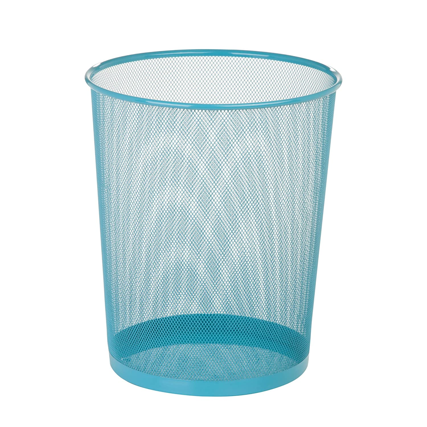 Amazon.com: Honey-Can-Do Steel Mesh Powder Coated Waste Basket ...