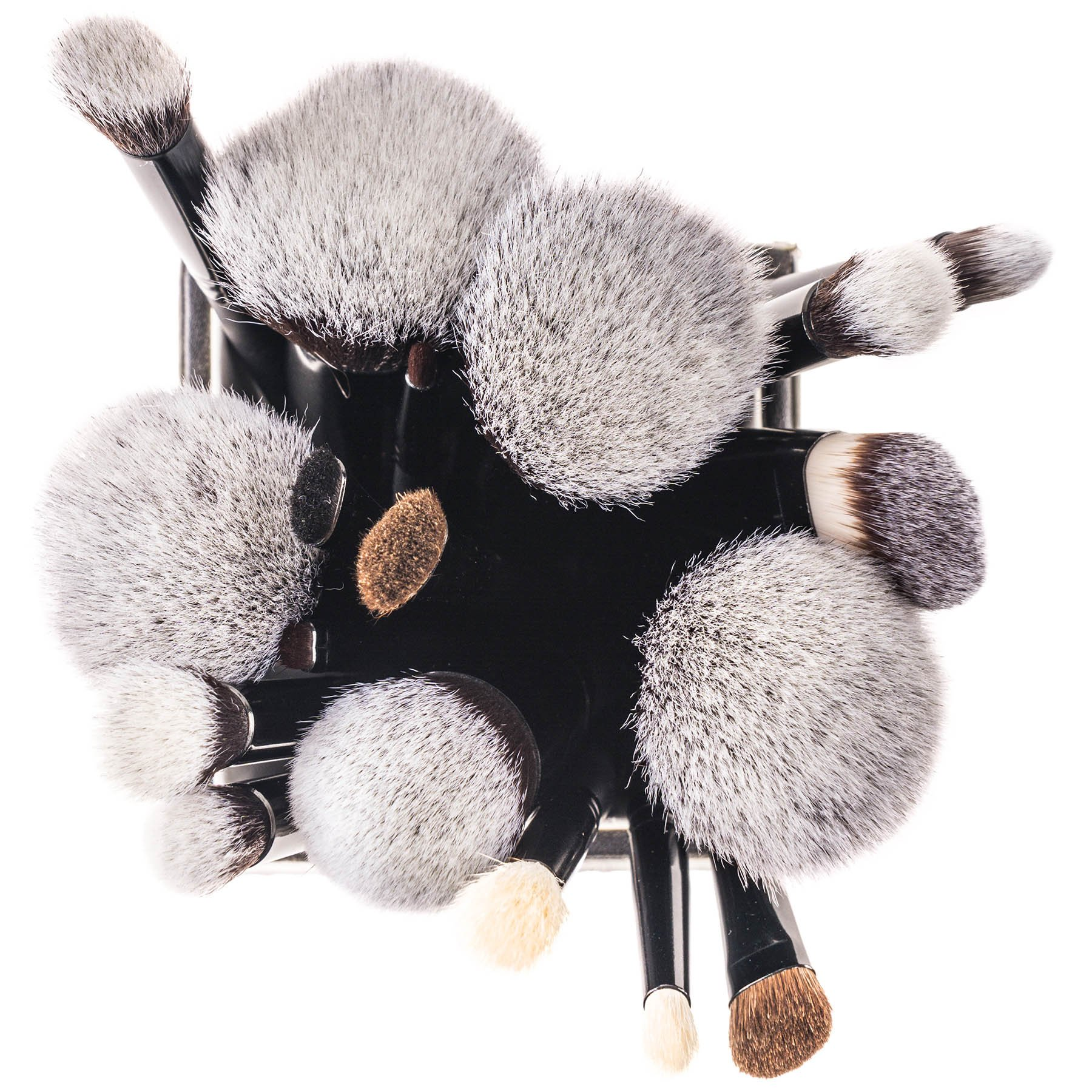 SHANY Artisan's Easel 18 Piece Elite Cosmetics Brush Collection, Black by SHANY Cosmetics (Image #7)
