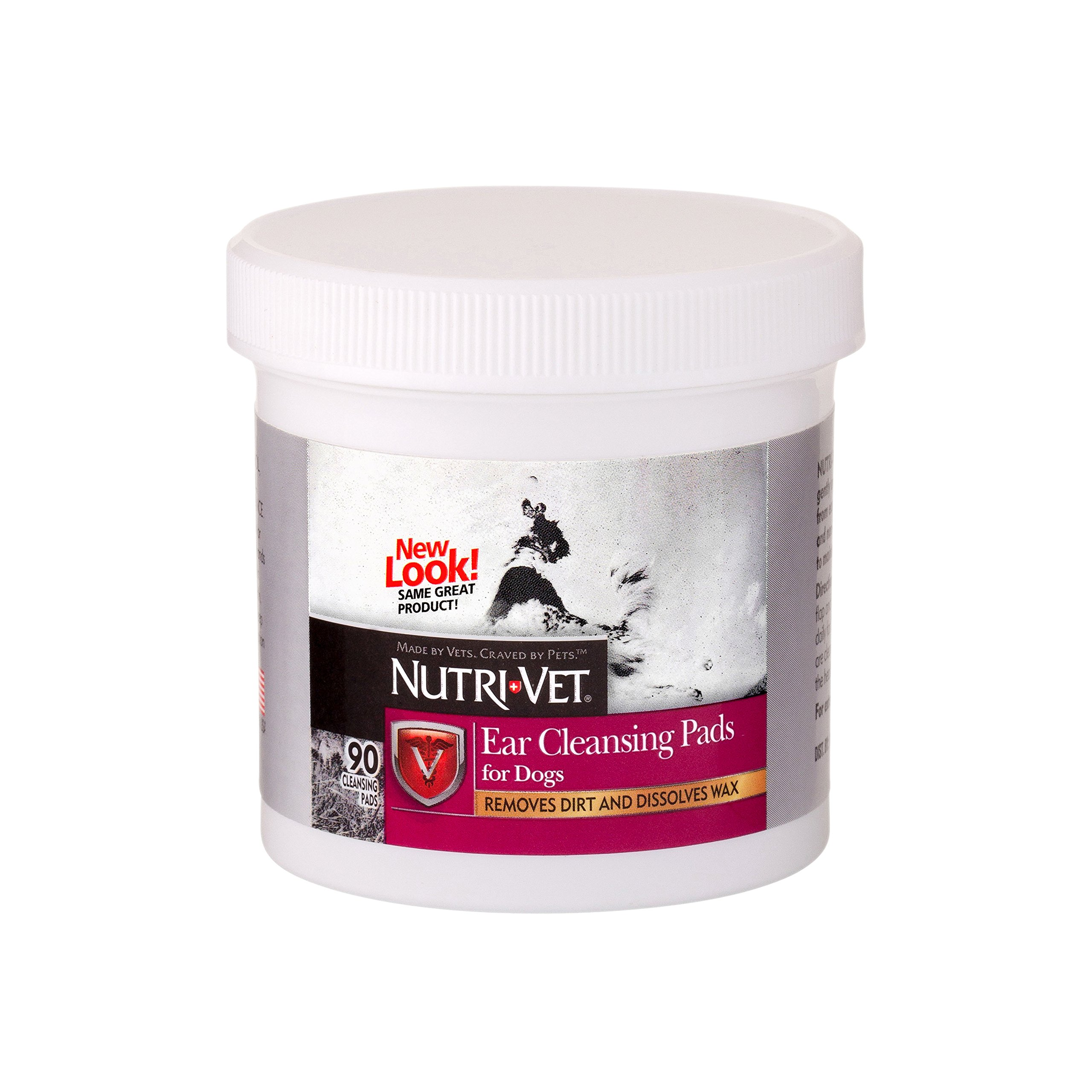 Nutri-Vet Ear Cleaning Medicated Pads 90 count