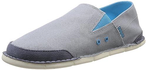 Crocs Crocs Cabo Loafer M - Mocasines de lona para hombre, gris (Concrete), 41/42: Amazon.es: Zapatos y complementos