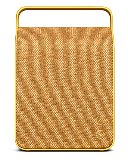 Vifa Oslo Compact Rechargeable Hi-Resolution Bluetooth Portable Speaker-  Sand Yellow