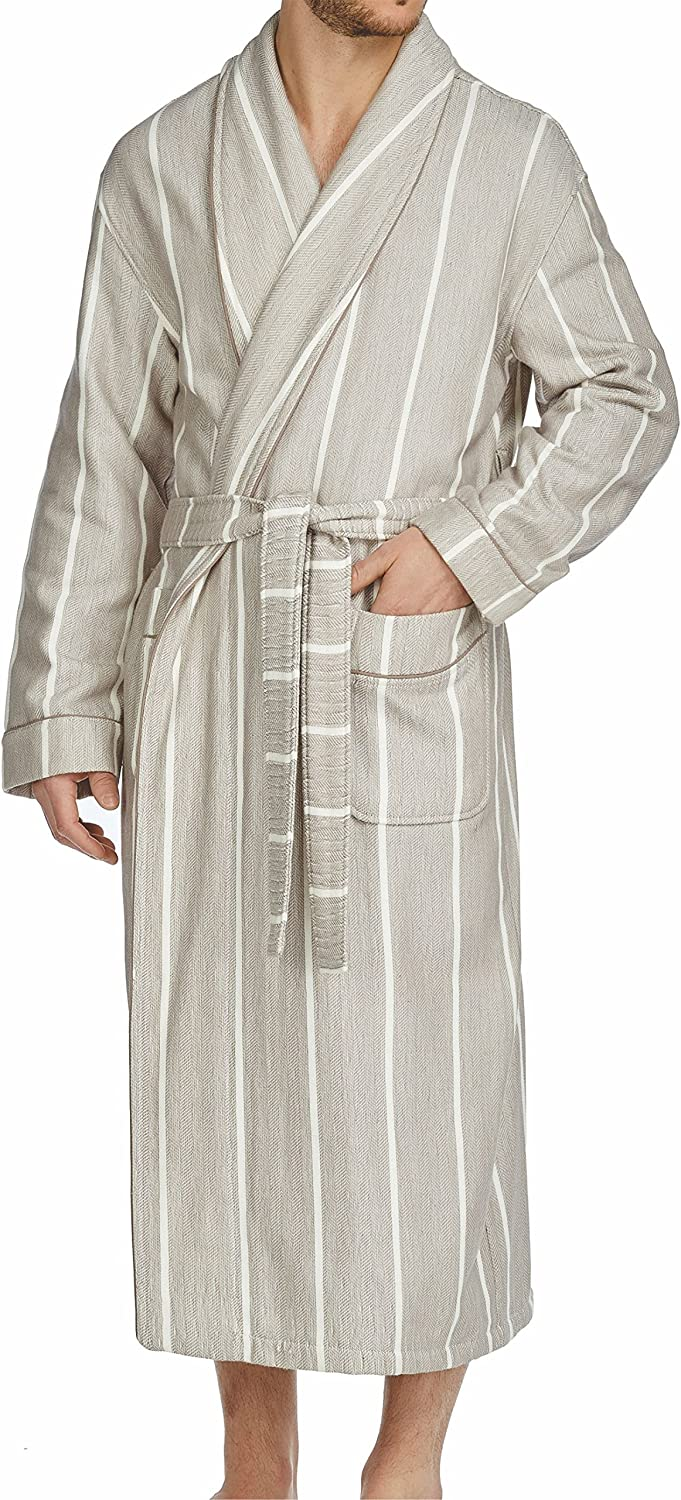 Majestic International Men's Breakers Shawl Robe