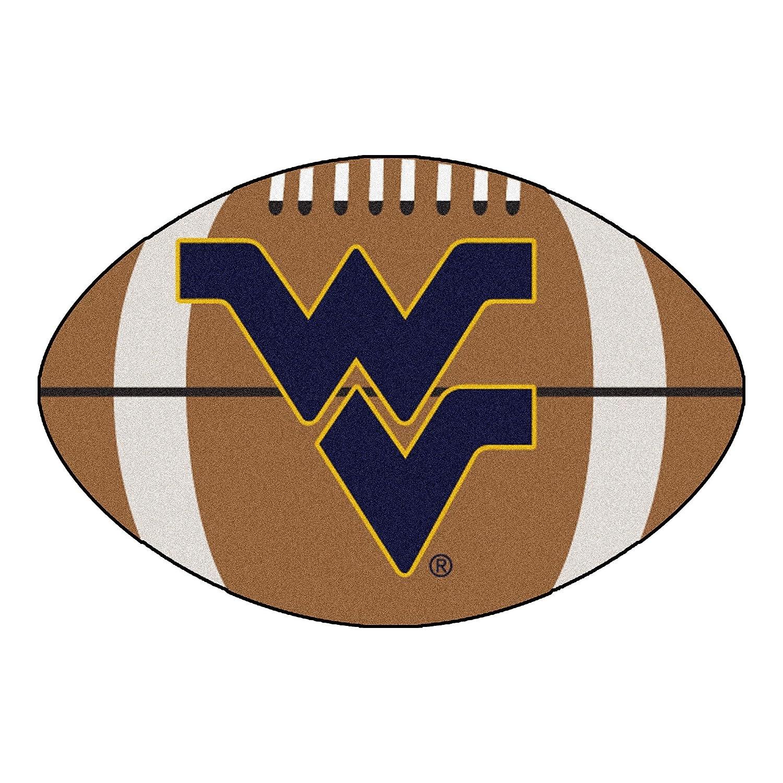 West Virginia University Football Area Rug
