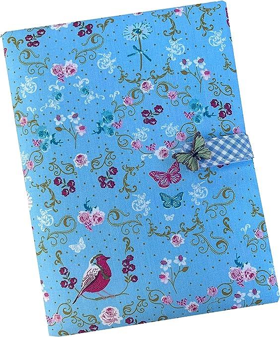 Sackcloth Sally - Funda para libro de familia, diseño con mariposas: Amazon.es: Bebé
