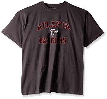 official photos 492c2 7aa52 NFL Atlanta Falcons Men's Big and Tall Heart and Soul T ...