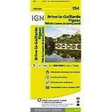 Top100154 Brive-la-Gaillarde/Figeac 1/100.000