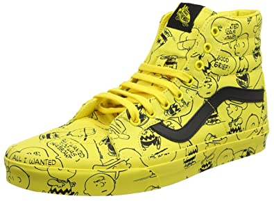 charlie brown vans shoes