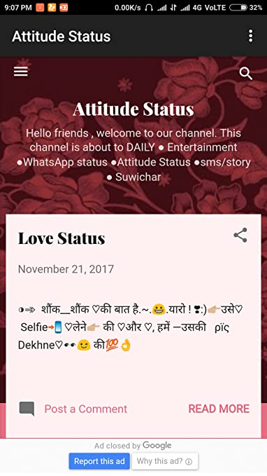 Amazon com: Attitude status: Appstore for Android
