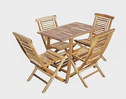 Wooden Dining Table Solid Teak Wood Kitchen 6 Person Tables Indoor